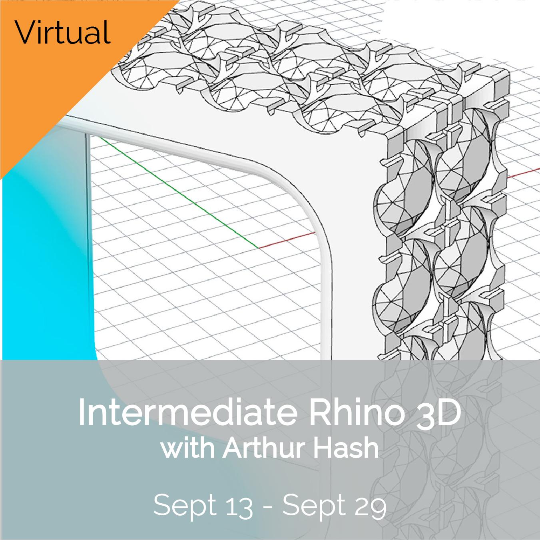 IG - (V) Advanced Rhino 3d W2021